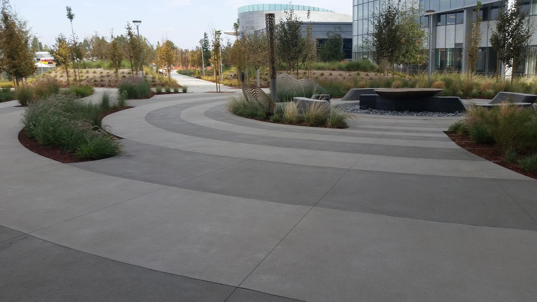 Exterior Concrete Floor By Bac Polished Decorative Concrete Bay Area Concretes