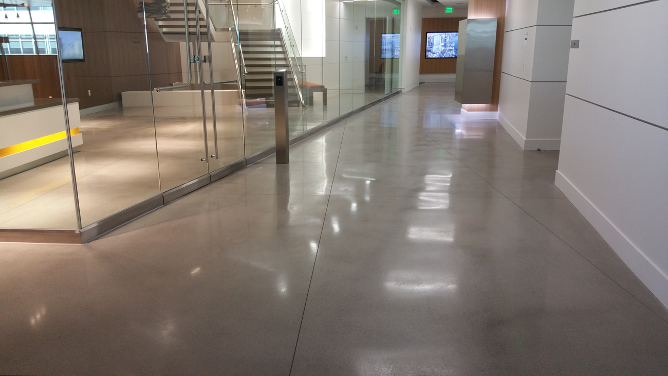 Polished Concrete Floor By Bac Polished Amp Decorative