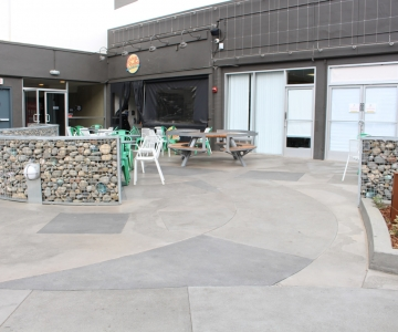 hotels – stamped, polished and decorative concrete | bay area