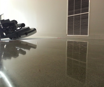Interior Polished Concrete Floor By BAC