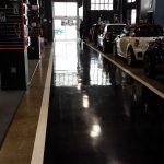 polished concrete at mini by Bay Area Concretes Inc