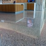 Polished Concrete at University of California by Bay Area Concretes