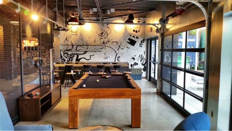 Interior Polished Concrete flooring by Bay Area Concretes at Hotel Zephyr